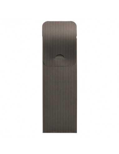 Fundas para cubiertos hostelería papel gris antracita con servilleta incluida