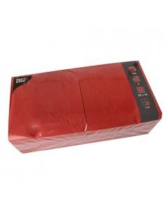 Servilletas de papel hostelería color rojo 40 x 40 cm