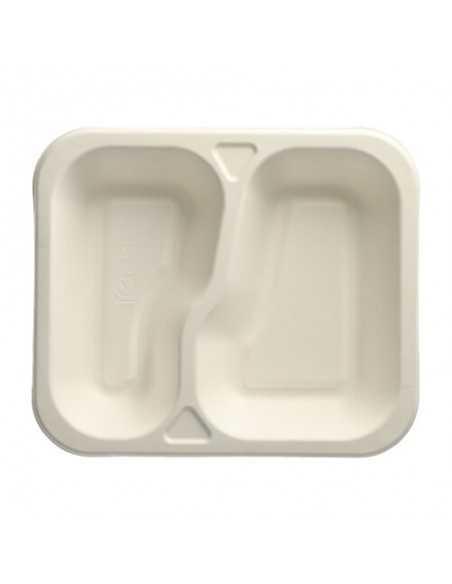 Bandejas menú termosellables caña de azúcar 2 Comp. Pure