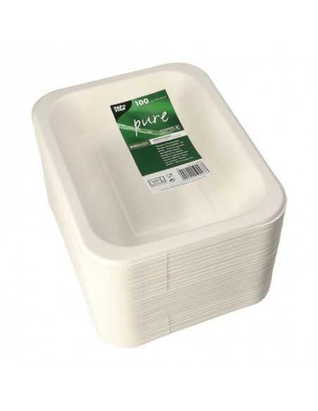 Bandejas menú termosellables caña azúcar 900ml Pure