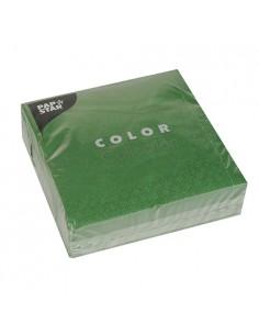 Servilletas Color Verde...