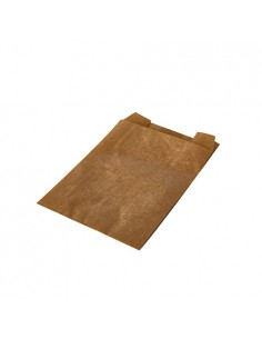 Bolsas papel kraft antigrasa marrón para wrap 11 x 8 x 4 cm