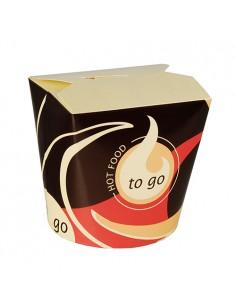 Envases comida asiática para llevar cartón To Go 750 ml