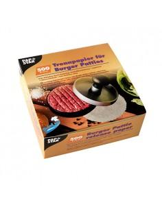 Papel separador de hamburguesas clor blanco Ø13 cm