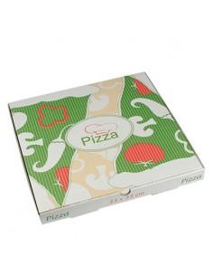 Cajas Pizza Cuadrada Papel...