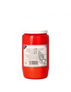 Velón ofrenda envase rojo T3 Ø 5,8 x 9,6 cm
