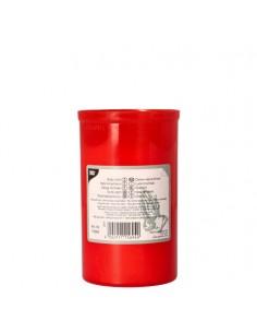 Velas para ofrendas envase rojo T3 Ø 6,4 x 10 cm