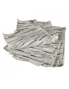 Hojas papel para envolver pergamino artificial impresas prensa 35 x 25 cm