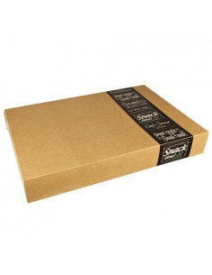 Cajas cartón transporte catering Good Food Pure 37,6 x 55,7 x 8 cm