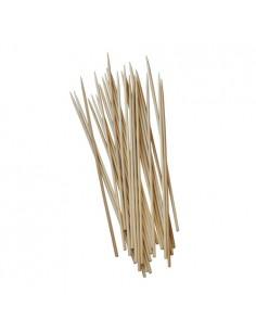 Brochetas cortas de madera de bambú Pure 15 cm