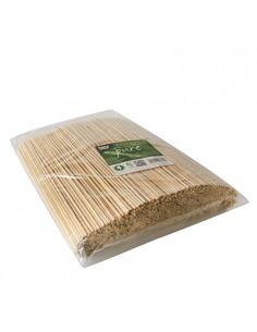 Brochetas pincho de madera bambú Ø 3mm- 25 cm Pure