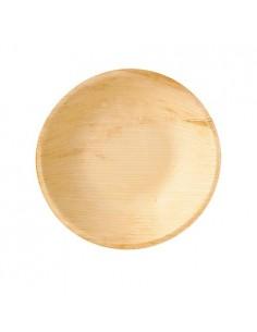 Boles hoja de palma compostables redondos 300ml Pure