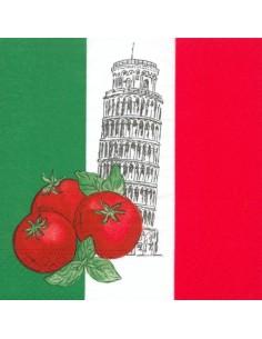 Servilletas papel decoradas Italia 33 cm x 33 cm
