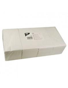 Servilletas de papel económicas para hostelería color blanco 40 x 40 cm