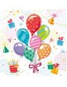 Servilletas papel para fiestas infantiles cumpleaños 33 x 33 cm