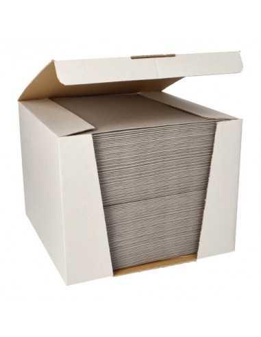Servilletas papel aspecto tela color gris Royal Collection 40 x40 cm