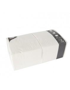Servilletas de papel hostelería color blanco 33 x 33 cm