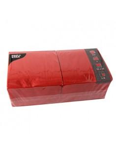 Servilletas de papel hostelería color rojo 33 x 33 cm