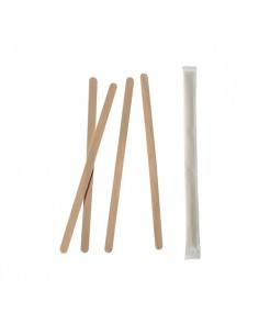 Removedores de madera envueltos individualmente 9,2 cm x 9mm
