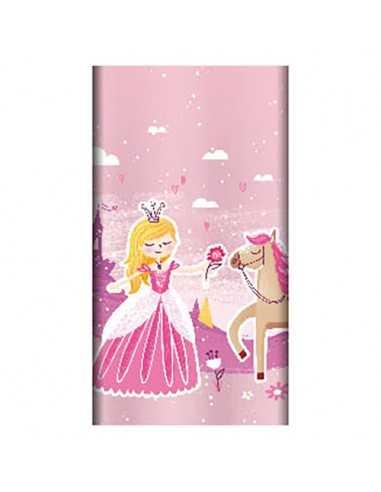 Mantel de papel fiestas infantiles Princesas compostables 120 x 180cm