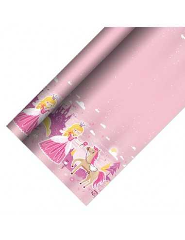 Mantel de papel fiesta infantil decorado princesas 5 x 1,2 m