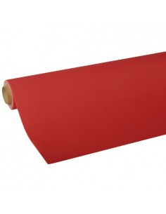 Rollo mantel de papel color rojo Royal Colection 5 x 1,18 m