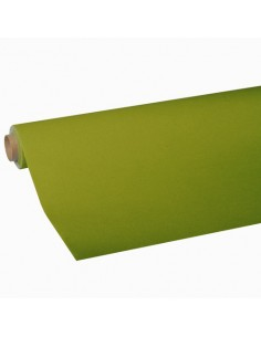 Rollo mantel de papel color verde oliva Royal Collection 5 x 1,18 m