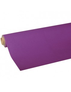 Rollo mantel de papel color morado Royal Collection 5 x 1,18 m