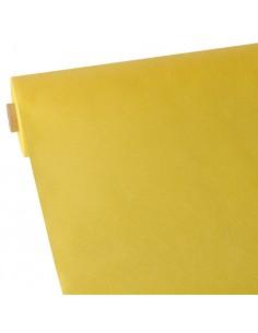 Mantel papel aspecto tela amarillo rollo 40 x 0,9 m Soft Selection
