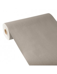 Camino de mesa papel aspecto tela gris Royal Collection 24 m x 40 cm