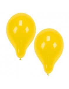 Globos amarillos para decoración fiestas de Ø 25 cm