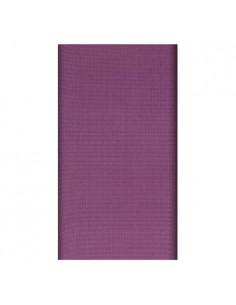 Mantel individual aspecto tela papel morado 120 x 180 cm Soft Selection