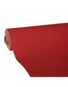 Rollo mantel de papel color rojo Royal Collection 25 x 1,18 m