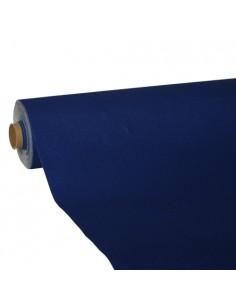 Rollo mantel de papel color azul oscuro Royal Collection 25 x 1,18 m