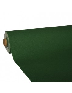 Rollo mantel de papel color verde oscuro Royal Collection 25 x 1,18 m