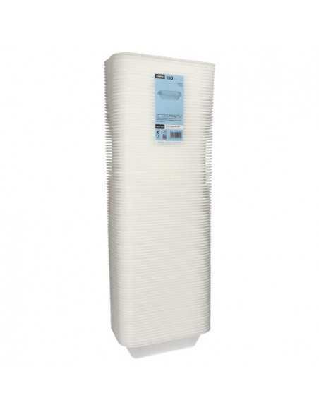 Bandejas para menú termosellables blancas XPS 950 ml