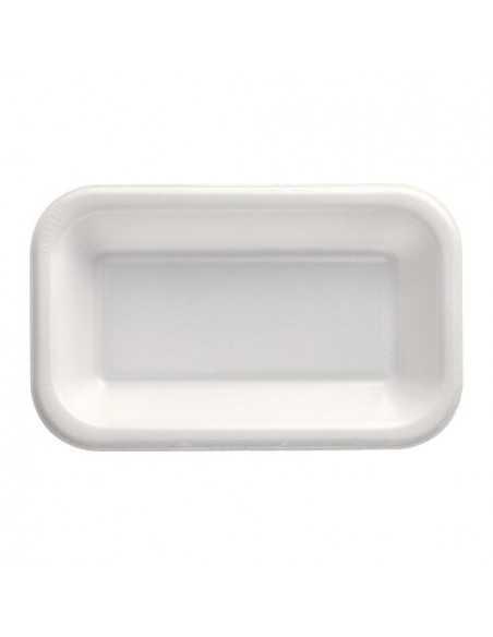 Bandejas para menú termosellables blancas XPS 750 ml