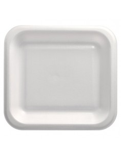 Bandejas para menú termosellables blancas XPS 1150 ml
