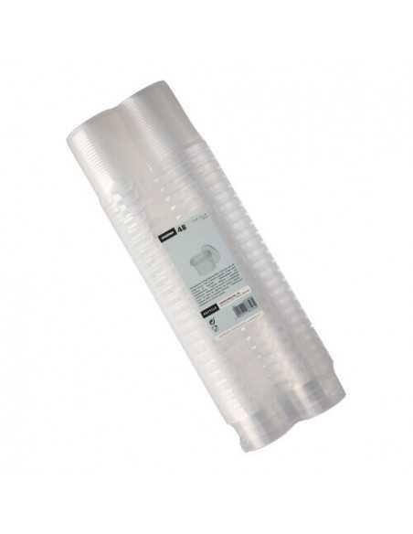 Envases tapa hermética de seguridad plástico transparente120 ml