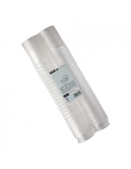 Envases tapa hermética de seguridad plástico transparente 80 ml