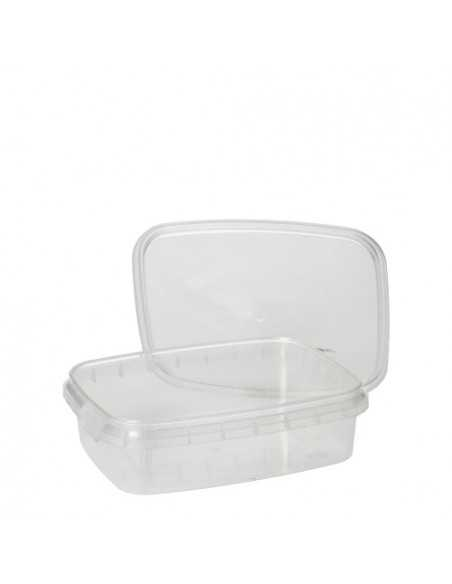Envases tapa hermética de seguridad plástico transparente 150 ml