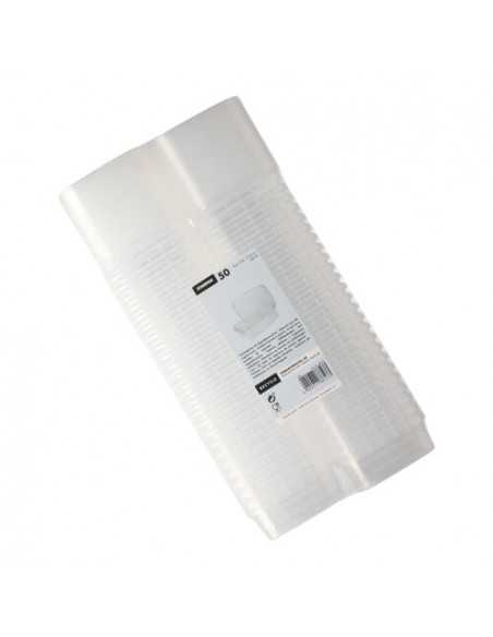 Envases tapa hermética de seguridad plástico transparente 200 ml