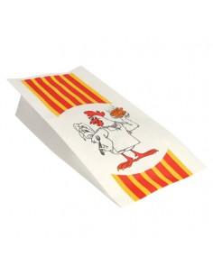 Bolsas para pollo asado papel anti grasa 28 x 13 x 8 cm