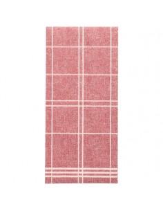 Servilletas de papel cuadros burdeos Royal Collection Kitchen Craf 1/6