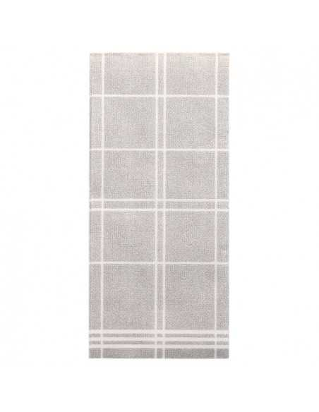 Servilletas de papel cuadros gris Royal Collection Kitchen Craf 1/6