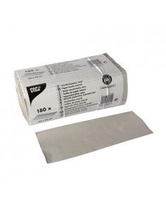 Toallas papel secamanos reciclado color natural Pliegue C 31 x 25 cm