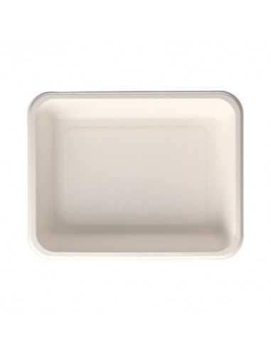 Bandejas termosellables envasado menús caña azúcar blanco 850ml Pure