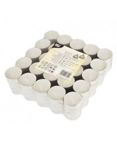 Velas de lamparilla parafina blanca Ø 39 x 16mm
