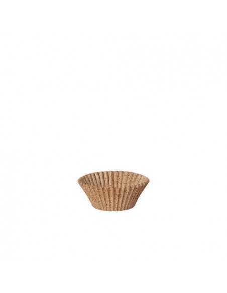 Moldes para hornear magdalenas compostables Ø 3 x 2,2cm