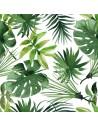 Servilletas de papel decoradas motivo tropical 33 x 33 cm